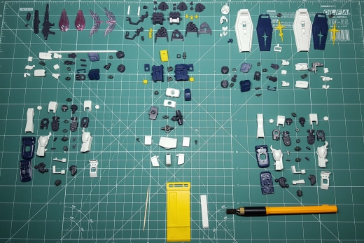 Gunpla Disassembly