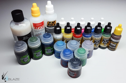 Paint Types for Scale Modeling | Painting Tutorials