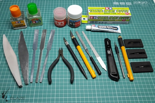 Tools for removing seam lines.